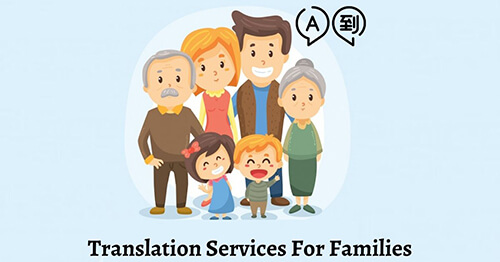 Translation Services For Families